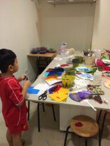 art class in Singapore