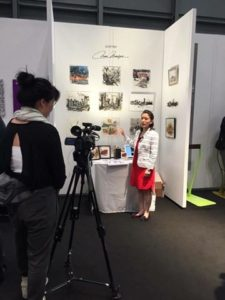 interview for ICFF exhibition from TDW