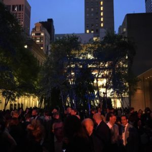 Party at MoMA in NY