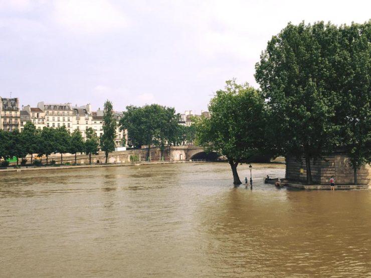 セーヌ川氾濫 Seine