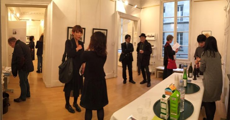 nao morigo solo exhibition in paris Party