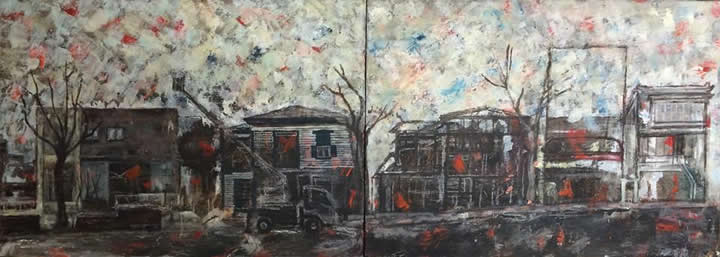 nao morigo painting 2014