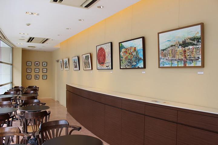 cafe de DIANA 原宿 nao morigo 個展 2013