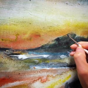 painting nao morigo