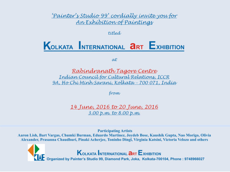 KolkataInternational ArtExhibition Exhibition