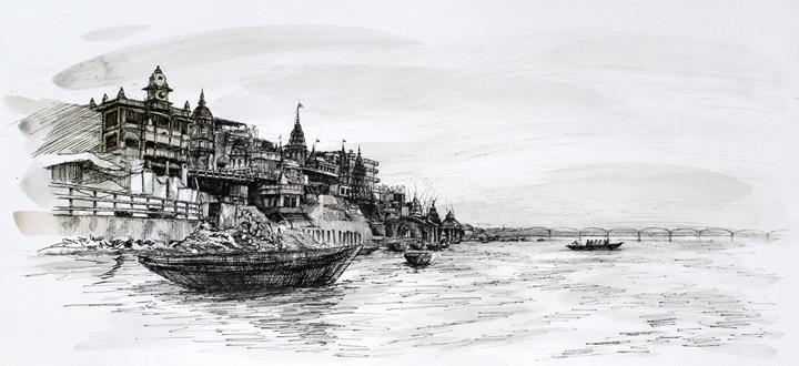 Ganges by nao morigo