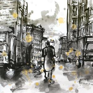 New York City painted by nao morigo