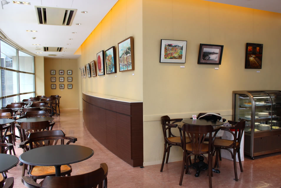 cafe de diana nao morigo exhibition